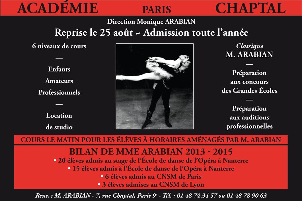 Académie Chaptal – Paris