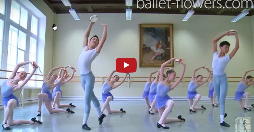 Académie de Ballet Vaganova – Examen 2015 danse de caractère, La tarentelle