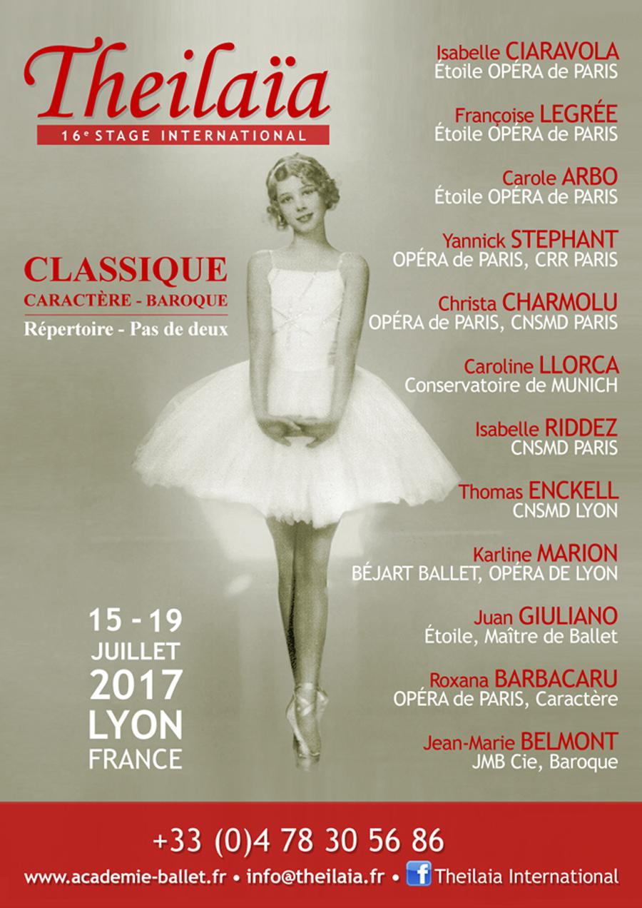Stage International Thelaïa à Lyon