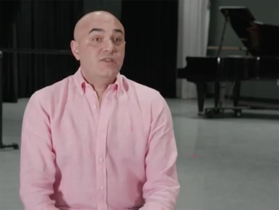 Carlos Valcárcel nommé directeur artistiquede l'English National Ballet School