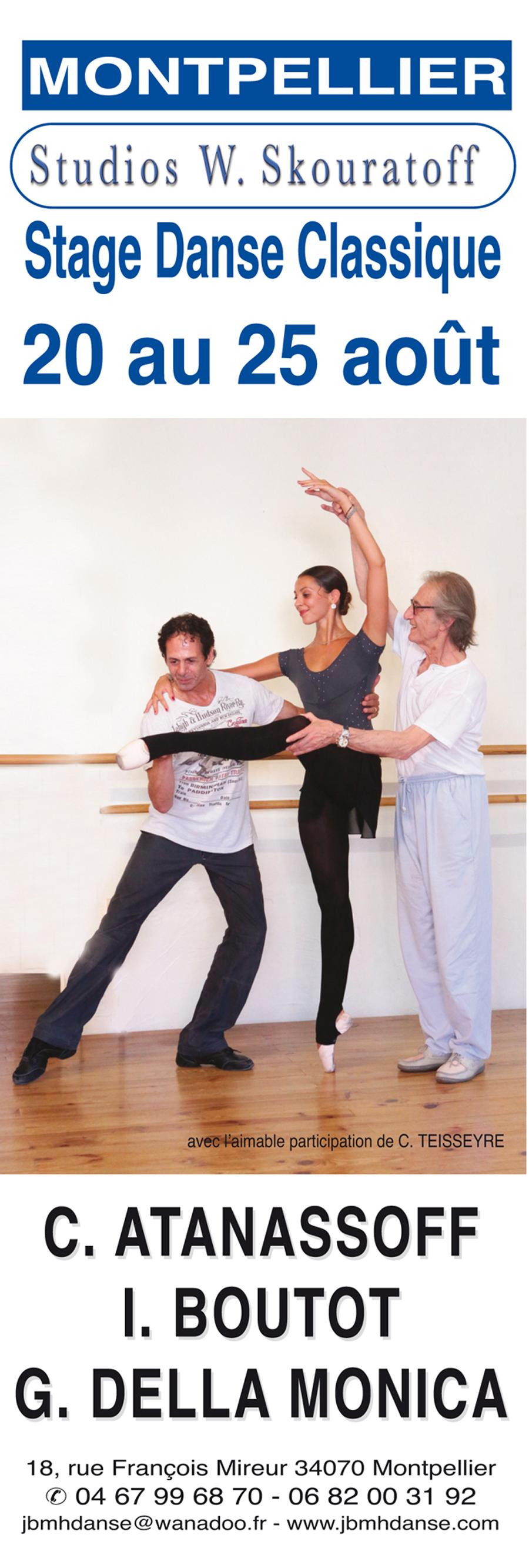 Stage de danse de Montpellier