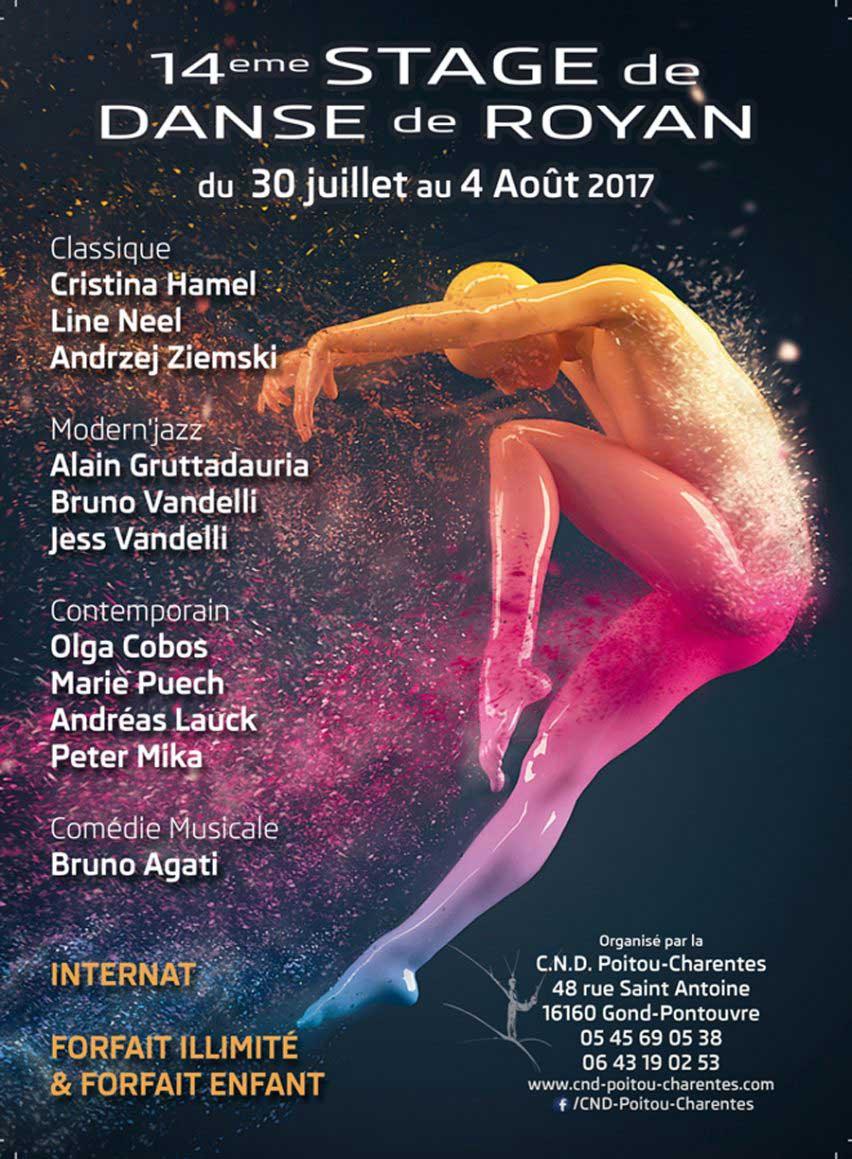 Stage de Royan danse classique, jazz, comédie musicale
