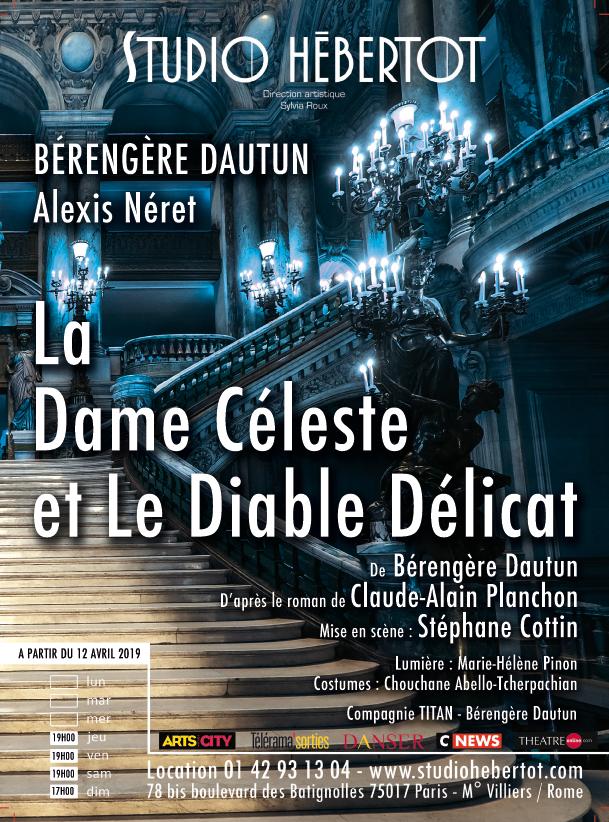 La Dame Céleste et le diable délicat : du livre au théâtre du Petit Hébertot