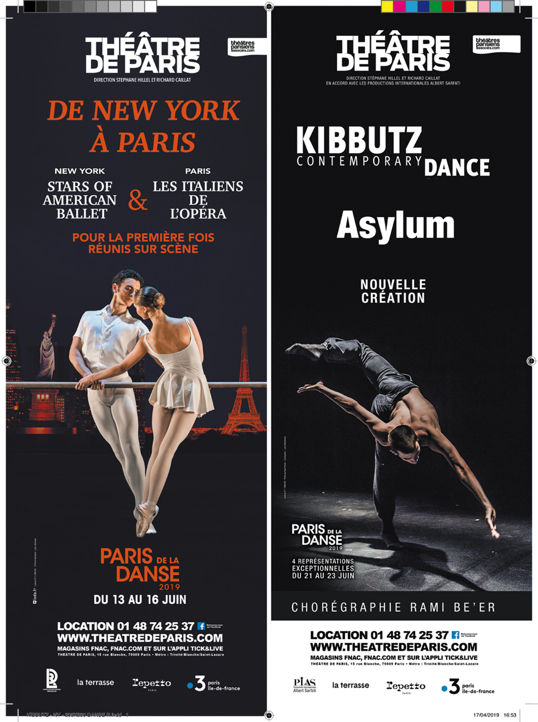 PARIS DE LA DANSE 2019