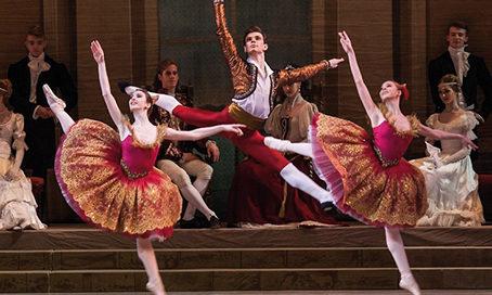 l'Académie Vaganova, Saint Petersbourg présente trois ballets